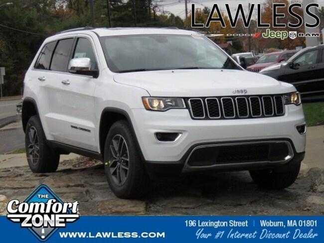 New 2019 Jeep Grand Cherokee LIMITED 4X4 Sport Utility Boston