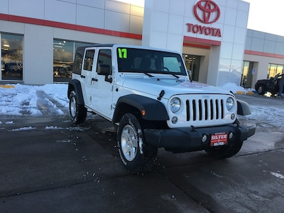 Silver Jeep Wrangler >> 2017 Used Jeep Wrangler Jk Unlimited Sport 4x4 For Sale Silver City Nm Stock Pt551