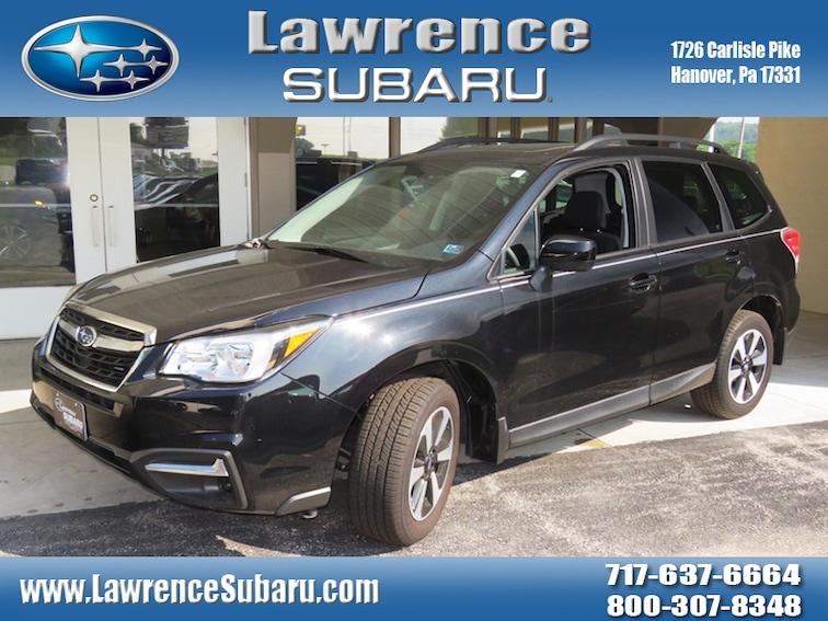 Certified 2018 Subaru Forester 2.5i Premium SUV in Hanover, PA