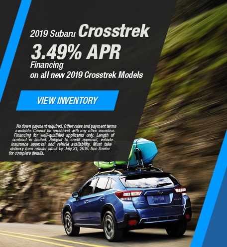 2019 Subaru Crosstrek - July 2019