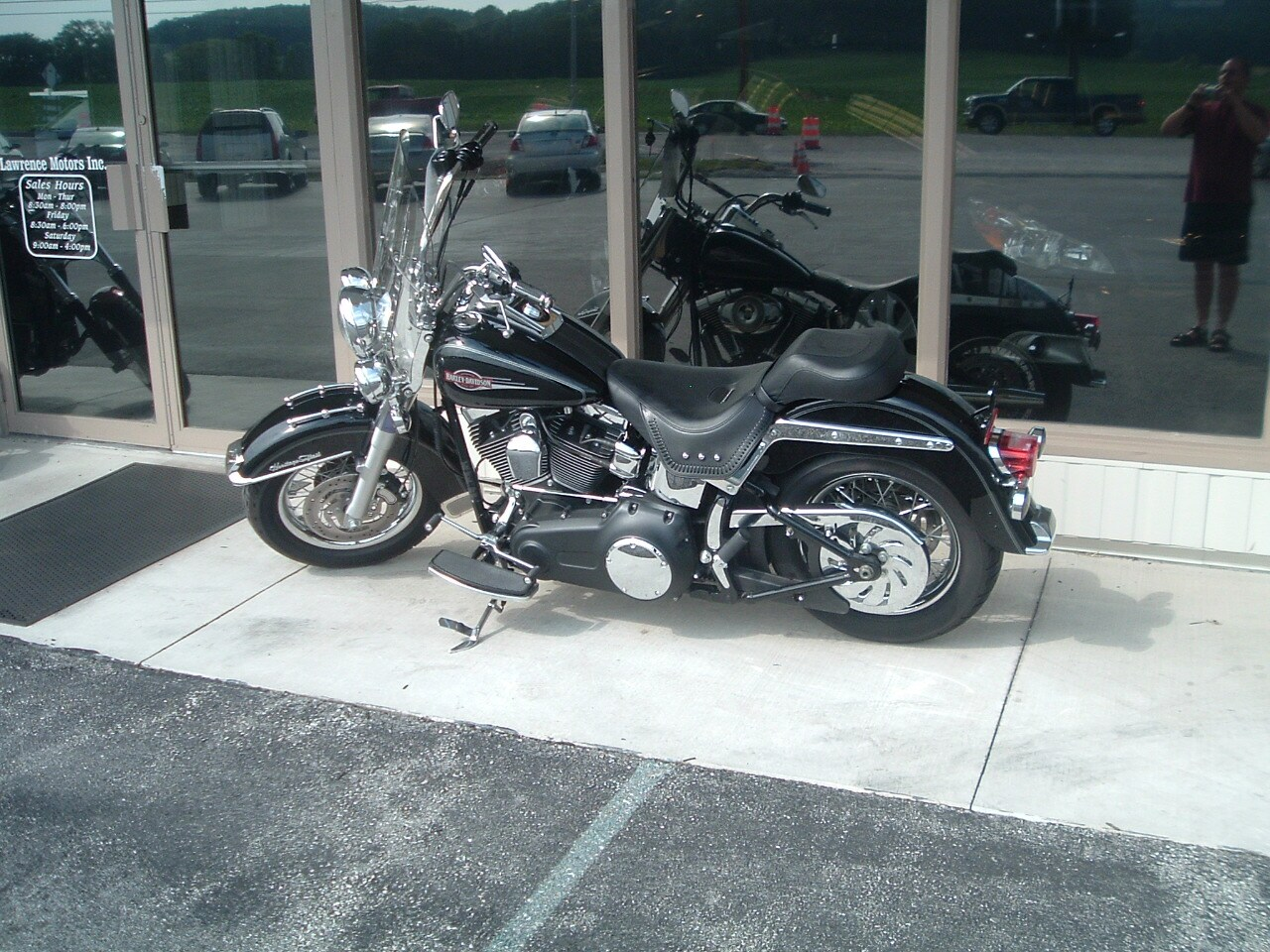 2008 Harley Davidson Heritage Soft Tail MC Commercial