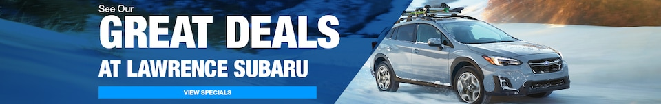See Our Great Deals at Lawrence Subaru