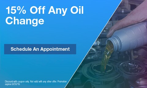15% Off Any Oil Change