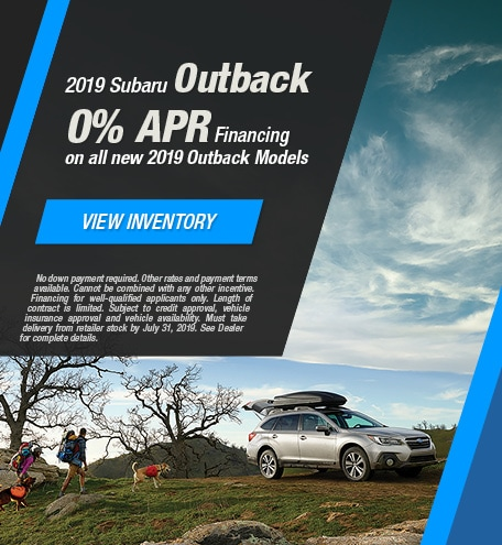 2019 Subaru Outback - July 2019