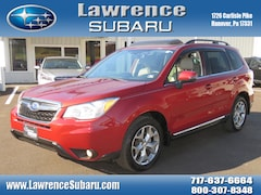 Certified Pre-Owned 2015 Subaru Forester 2.5i Touring (CVT) SUV JF2SJAWCXFH528458 in Hanover, PA
