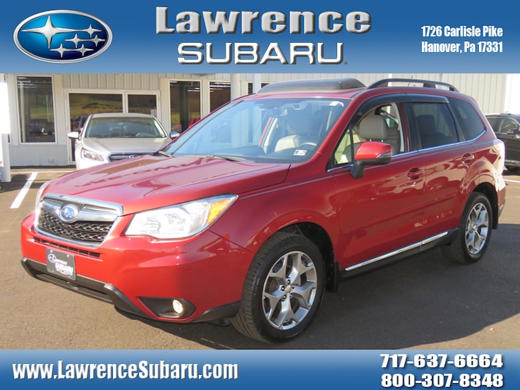 Certified 2015 Subaru Forester 2.5i Touring (CVT) SUV in Hanover, PA