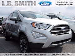New 2020 Ford EcoSport Titanium Crossover for sale near Harrisburg, PA