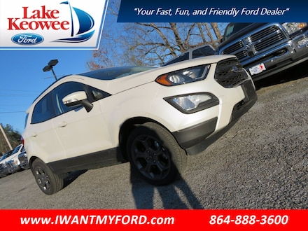 Featured Used 2018 Ford EcoSport SES SUV for Sale in Seneca SC