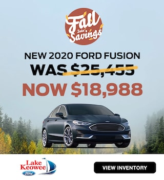 2020 Ford Fusion Was: $25,455 Now: $18,988