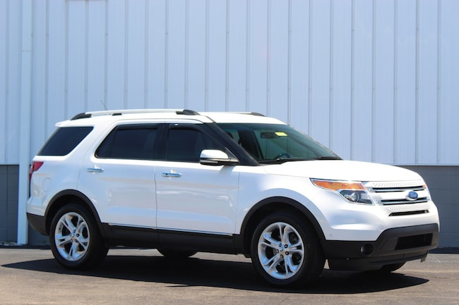 Used 2011 Ford Explorer Limited SUV for sale in Cincinnati OH