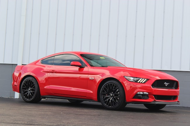 Certified Pre-Owned 2017 Ford Mustang GT Premium Coupe for sale in Cincinnati OH
