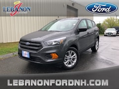 New 2019 Ford Escape S SUV 1FMCU0F72KUB90896 for sale in Lebanon, NH