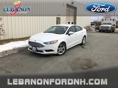 New 2018 Ford Fusion SE Sedan 3FA6P0HD0JR237303 for sale in Lebanon, NH