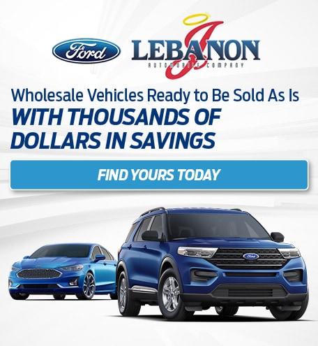 Wholesale Vehicles