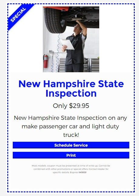 New Hampshire State Inspection