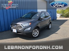 New 2019 Ford EcoSport SE SUV MAJ6S3GL7KC284367 for sale in Lebanon, NH