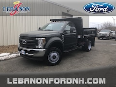New 2018 Ford F-550SD DRW Cab/Chassis 1FDUF5HY3JDA04055 for sale in Lebanon, NH