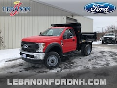 New 2019 Ford F-550SD XL DRW Cab/Chassis 1FDUF5HY7KDA08689 for sale in Lebanon, NH