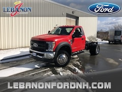 New 2019 Ford F-550SD XL DRW Truck 1FDUF5HT0KDA01183 for sale in Lebanon, NH