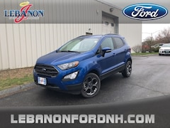 Used 2018 Ford EcoSport SES SUV for sale in Lebanon, NH