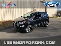 New 2018 Ford EcoSport Titanium SUV for sale in Lebanon, NH