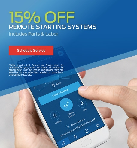 15% Off Remote Starting Systems