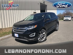 New 2018 Ford Edge Titanium SUV 2FMPK4K93JBB02013 for sale in Lebanon, NH