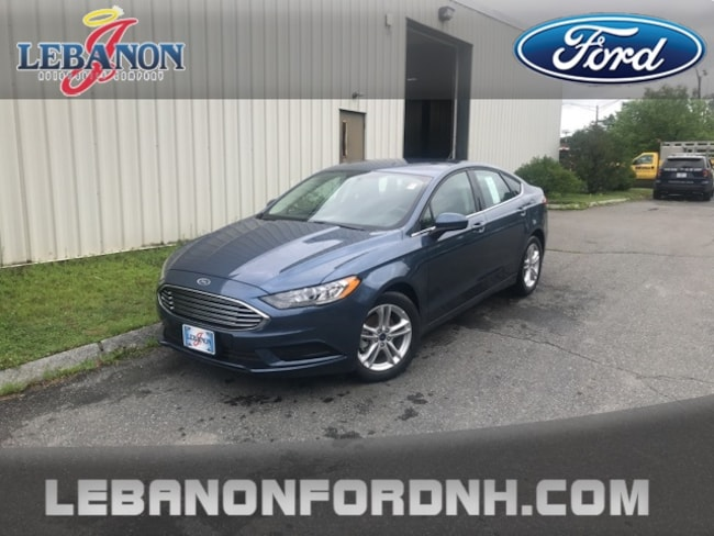New 2018 Ford Fusion SE Sedan for sale/ lease in Lebanon, NH