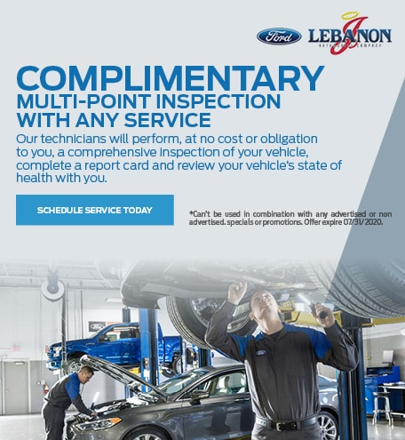 Complimentary Multi-Point Inspection With Any Service