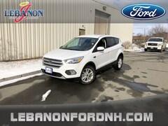 New 2019 Ford Escape SE SUV 1FMCU9GD7KUA48519 for sale in Lebanon, NH