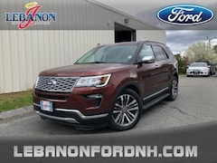 Used 2018 Ford Explorer Platinum SUV for sale in Lebanon, NH