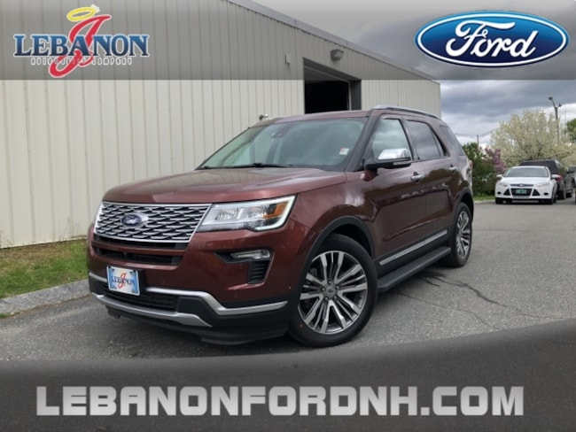 New 2018 Ford Explorer Platinum SUV for sale/ lease in Lebanon, NH