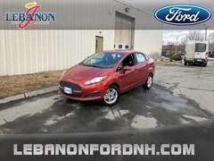 New 2019 Ford Fiesta SE Sedan 3FADP4BJXKM128276 for sale in Lebanon, NH