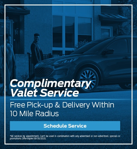 Complimentary Valet Service