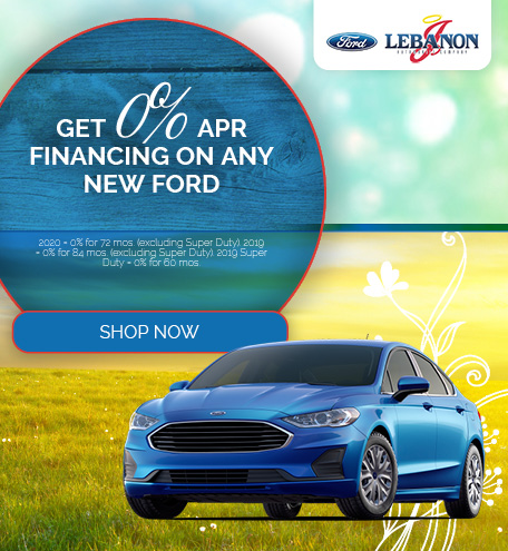 Get 0% APR Financing On Any New Ford