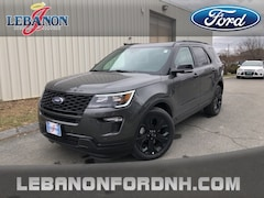 New 2019 Ford Explorer Sport SUV 1FM5K8GT6KGB32362 for sale in Lebanon, NH