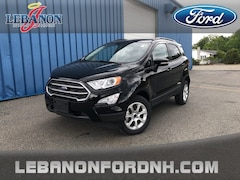 New 2019 Ford EcoSport SE SUV MAJ6S3GLXKC255980 for sale in Lebanon, NH