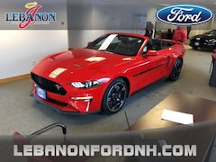 New 2019 Ford Mustang GT Premium Convertible 1FATP8FF4K5131947 for sale in Lebanon, NH