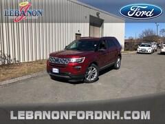 New 2018 Ford Explorer XLT SUV 1FM5K8D89JGA22808 for sale in Lebanon, NH
