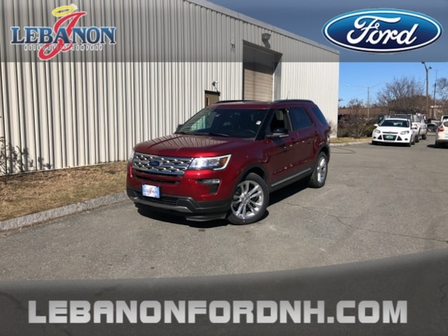 New 2018 Ford Explorer XLT SUV for sale/ lease in Lebanon, NH