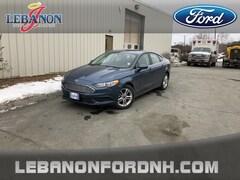 New 2018 Ford Fusion SE Sedan 3FA6P0HD2JR264292 for sale in Lebanon, NH