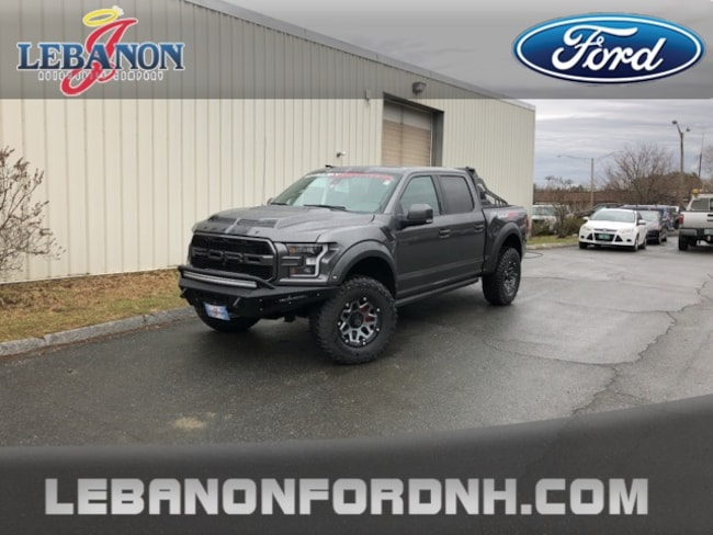 New 2018 Ford F-150 Raptor Truck for sale/ lease in Lebanon, NH