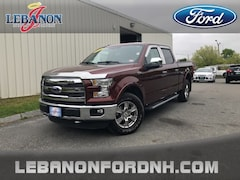 Used 2015 Ford F-150 Lariat Truck for sale in Lebanon, NH