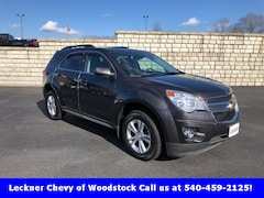 Used 2014 Chevrolet Equinox LT SUV for sale in Woodstock VA