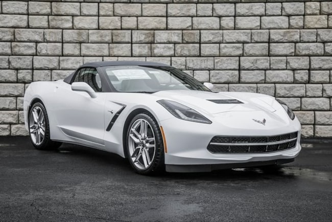 New 2019 Chevrolet Corvette Stingray Convertible for sale in Woodstock