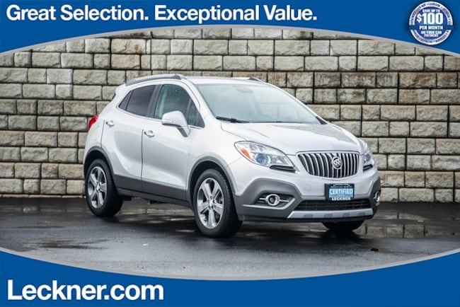 Certified 2014 Buick Encore Leather SUV for sale in Woodstock