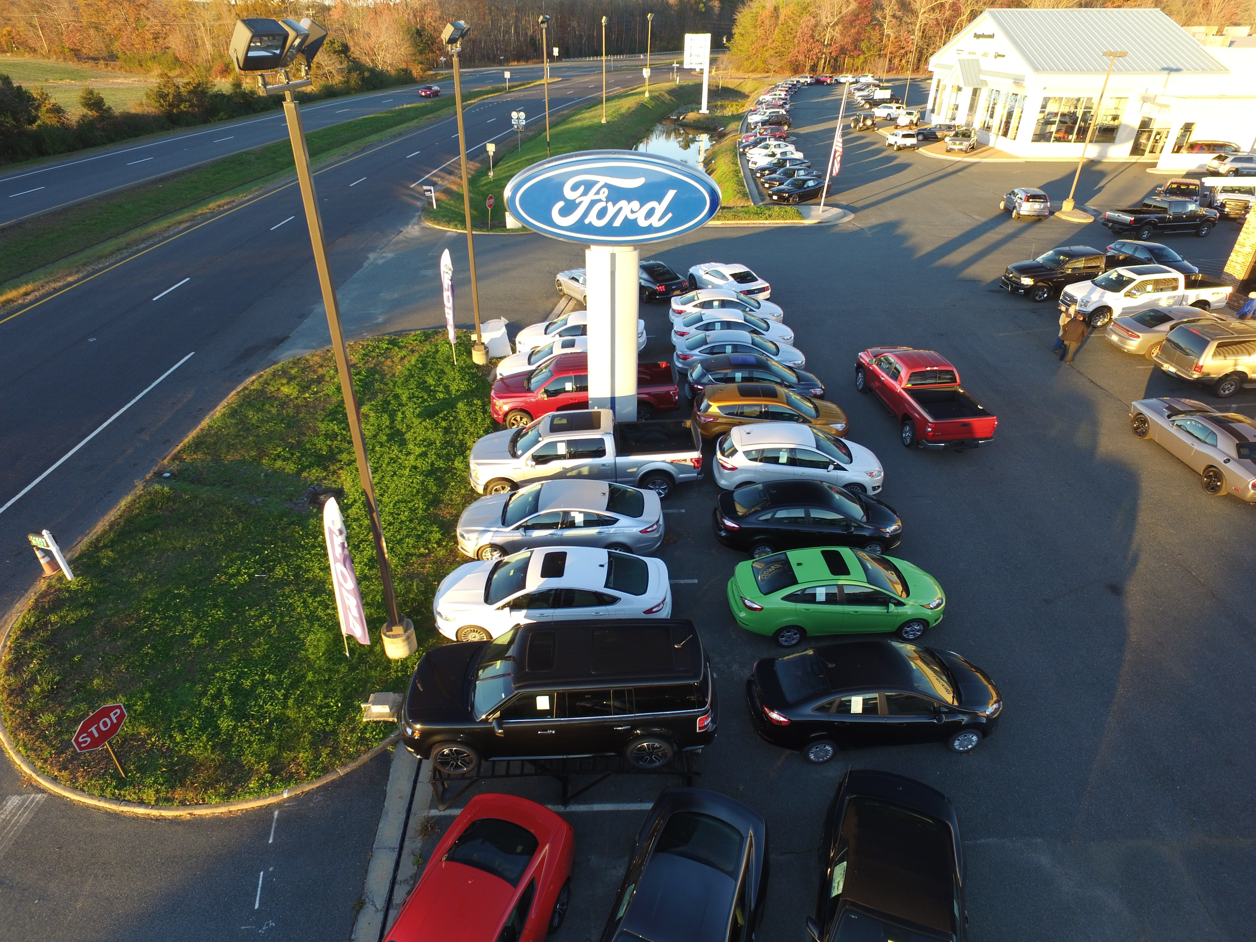 New Ford and Used Car Dealer King George Leckner Ford