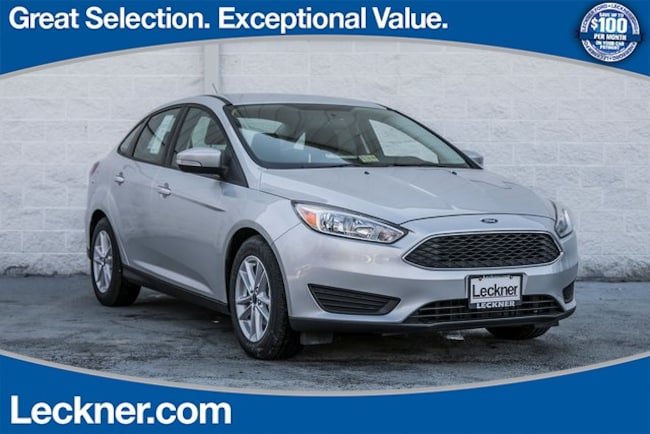 New 2018 Ford Focus SE Sedan in King George, VA
