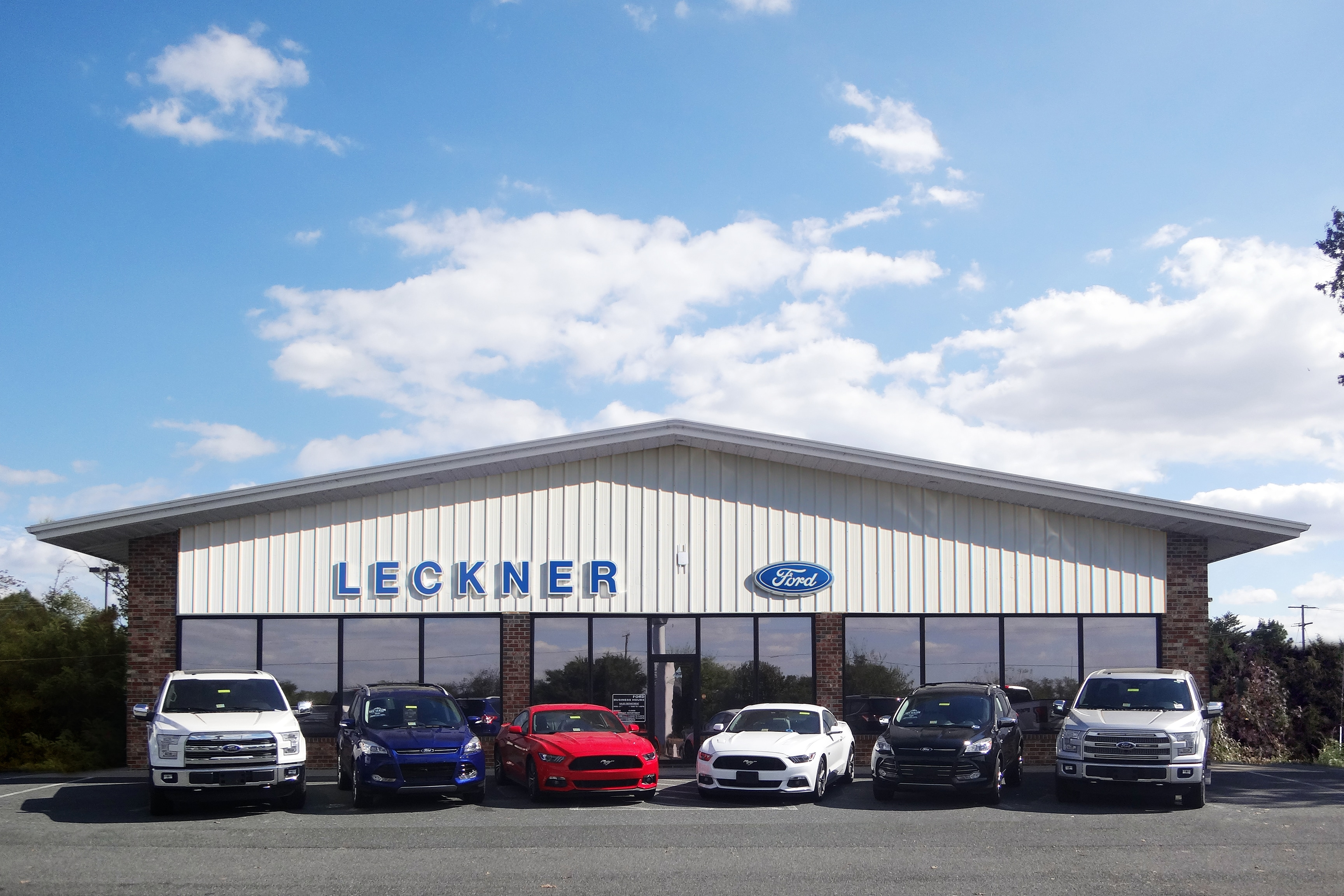 About Leckner Ford in King George