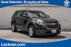 Used 2016 Chevrolet Equinox LS SUV for sale in Woodstock VA